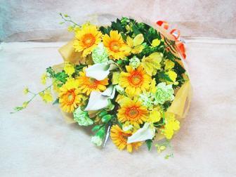 お任せ花束黄色